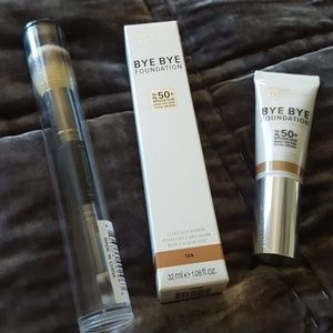 it Cosmetics - BYE BYE FOUNDATION & No. 7 Brush